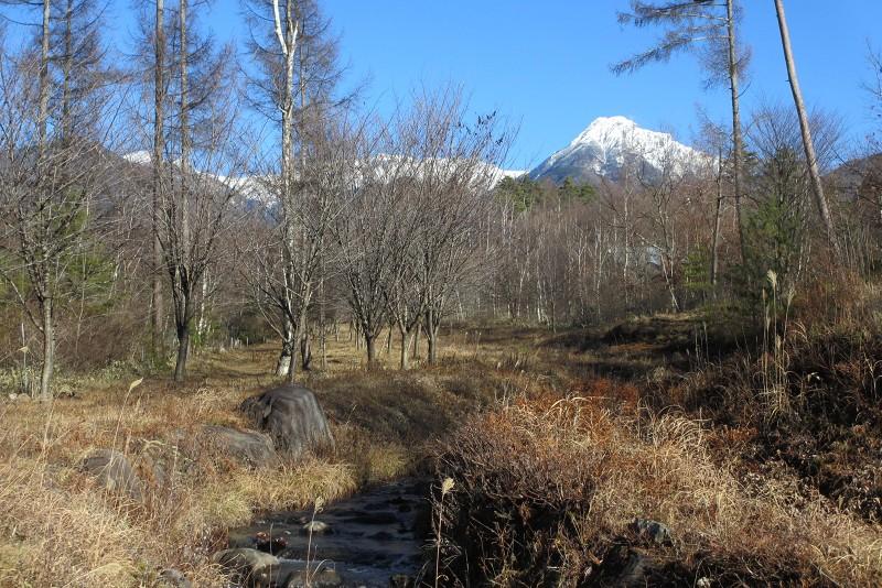 別荘地から見た八ヶ岳