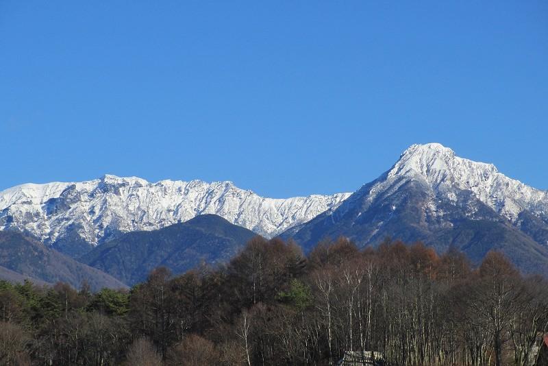横岳と阿弥陀岳
