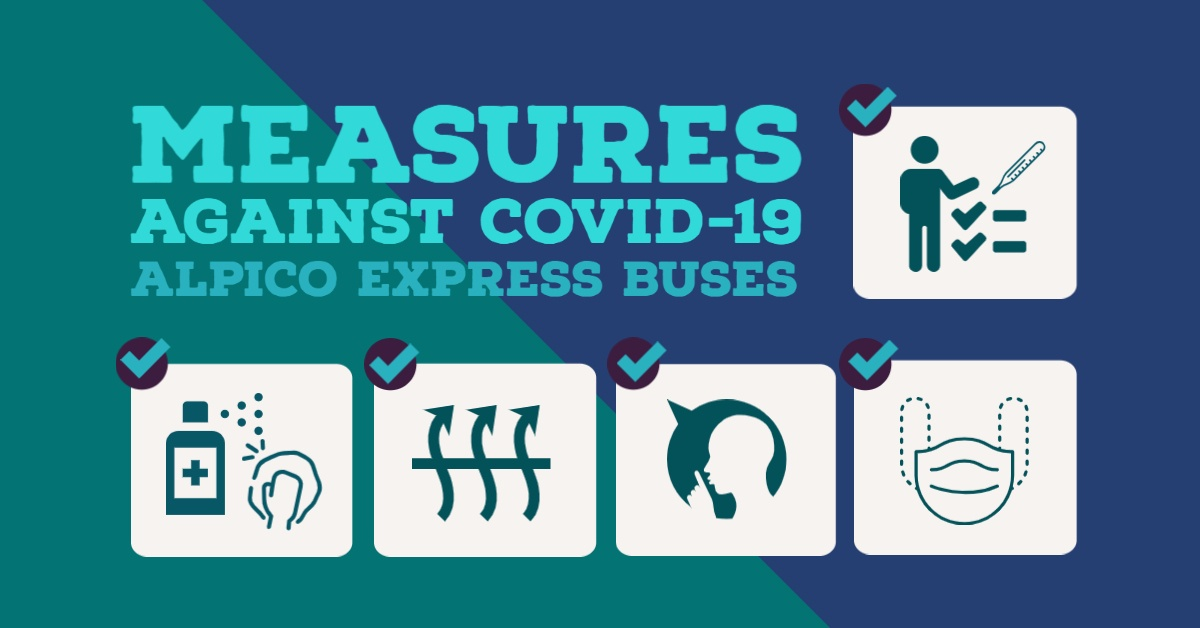 Regarding Measures Against COVID-19 for Long-distance Express Buses (Updated July 3)
