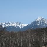 今日の八ヶ岳連峰