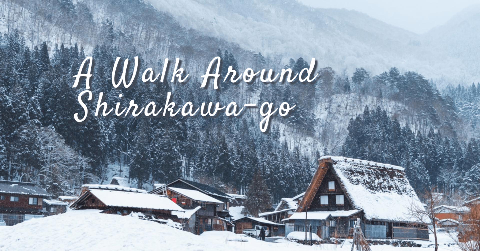 เดินเล่นท่ามกลางหิมะขาวโพลนที่หมู่บ้านชิราคาว่าโกะ!