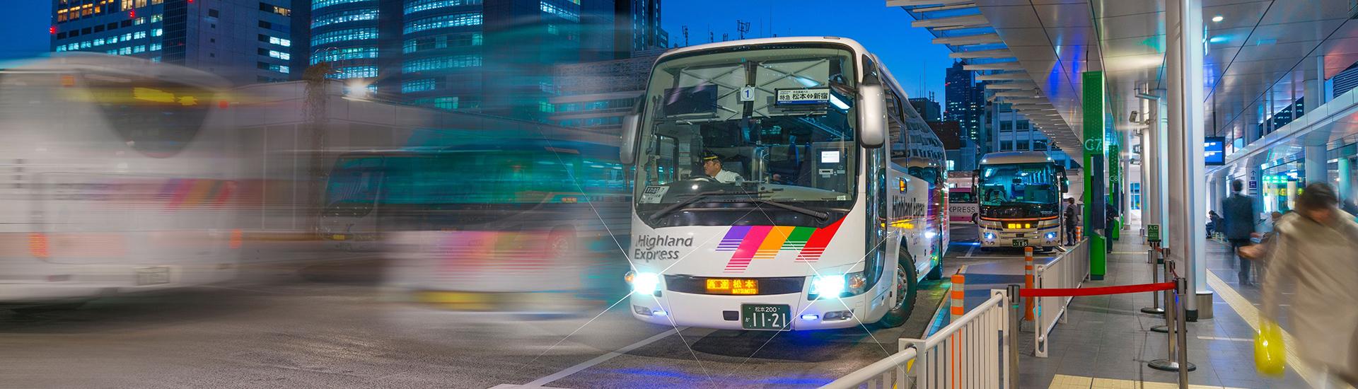 バス 中 日本 ツアー